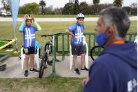 Actividades deportivas en el Velódromo de Montevideo