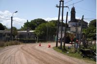 Obras de vialidad en Camino al Paso Hondo