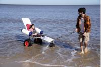Inauguración de acceso inclusivo a Playa Pocitos