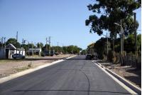 Obras de vialidad en Camino Oncativo