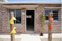 Inauguración de viviendas en el barrio Cauceglia