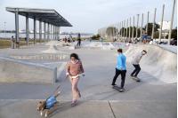 Inauguración del Parque Débora Céspedes