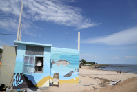 Obras de saneamiento en Santa Catalina
