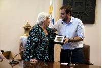 Declaración Visitante Ilustre Marysa Navarro