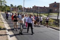 Recorrida por obras en barrio Pablo Estramín