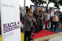 Inauguración de la Plaza de la Equidad