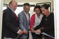 Inauguración de sala de lactancia, en Cedel Carrasco