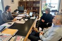Reunión Intendencia de Montevideo y Ministerio de Turismo