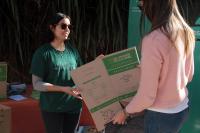 En Feria Camino Verde stand municipal de educación reciclaje
