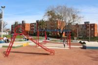 Plaza en Serrato y 20 de Febrero