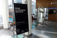 """Exposición """"Dejar la violencia machista"""" en la Facultad de Ciencias Sociales"""