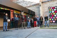 Asamblea en Ciudad Vieja por Cooperativa Dispersa - Proyecto Fincas