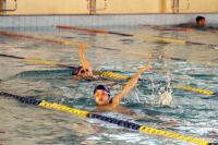 Natación para niñas y niños en Plaza de Deportes Nº11
