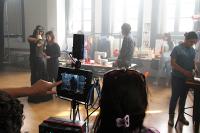 Backstage de rodaje para Montevideo Rock