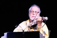 Federico Britos en concierto.