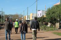Recorrida por el barrio Las Cabañitas en el marco del Plan ABC