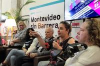 Montevideo Sin Barreras, Feria artesanal y coordinación con usuarios de transporte