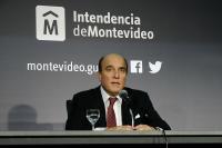 Daniel Martínez en conferencia de prensa