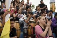 Invitacion a la comparsa del SACUDE a abrir el desfile de llamadas 2018