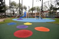 Inauguración de obras en Plaza de deportes Nº 6 «25 de Mayo»
