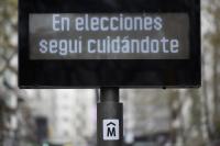 Reloj informativo Intendencia de Montevideo