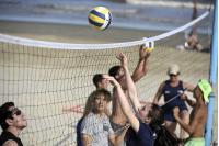 Actividades deportivas en la playa del Buceo