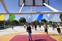 Inauguración de espacio deportivo El Campito-CEC Casavalle