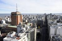 Vista aérea de Montevideo