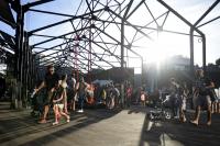 Inauguración de la plaza Las Pioneras