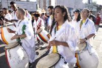 Desfile de Cuerdas de Tambores de la Movida Joven