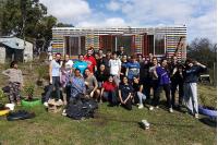 Jornada de voluntariado en El Viñedo, Punta de Rieles