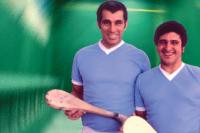 César Bernal y Néstor Iroldi