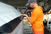 Taller de mantenimiento de contenedores