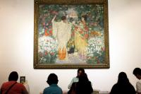 Museo Blanes durante la edición 2016 de Museos en la Noche.
