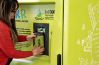 Reciclaje de aceite en el Atrio