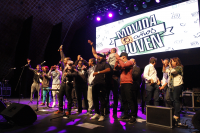 Ceremonia de cierre de la Movida Joven en el Teatro de Verano