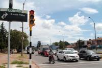 Inauguración de semáforo en Camino Maldonado y Susana Pintos