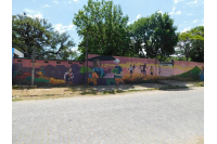 Mural en camino de las Tropas
