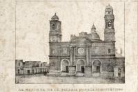 Fachada de la Iglesia Matriz de Montevideo