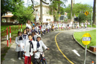 Escuela de tránsito_Educació vial