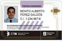 Tarjeta STM Prepago