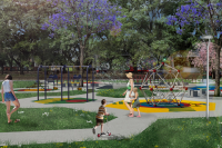 Rincón infantil Parque Rodó