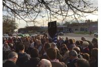Inauguración del Memorial Ayuno de Serpaj