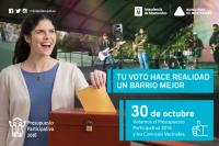 Elección de Presupuesto Participativo y Concejos Vecinales