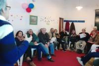 Reuniones sobre concejos vecinales con la ciudadanía.
