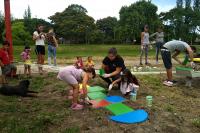 Jornada de voluntariado en el barrio Maua
