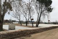 Obras en el Espacio Plaza Punta de Rieles