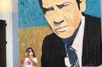 Mural en homenaje a Alfredo Zitarrosa en Santiago Vázquez