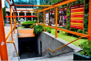 Subte municipal centro de exposiciones