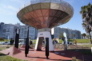 Inauguración de Estación de Montevideo Inteligente